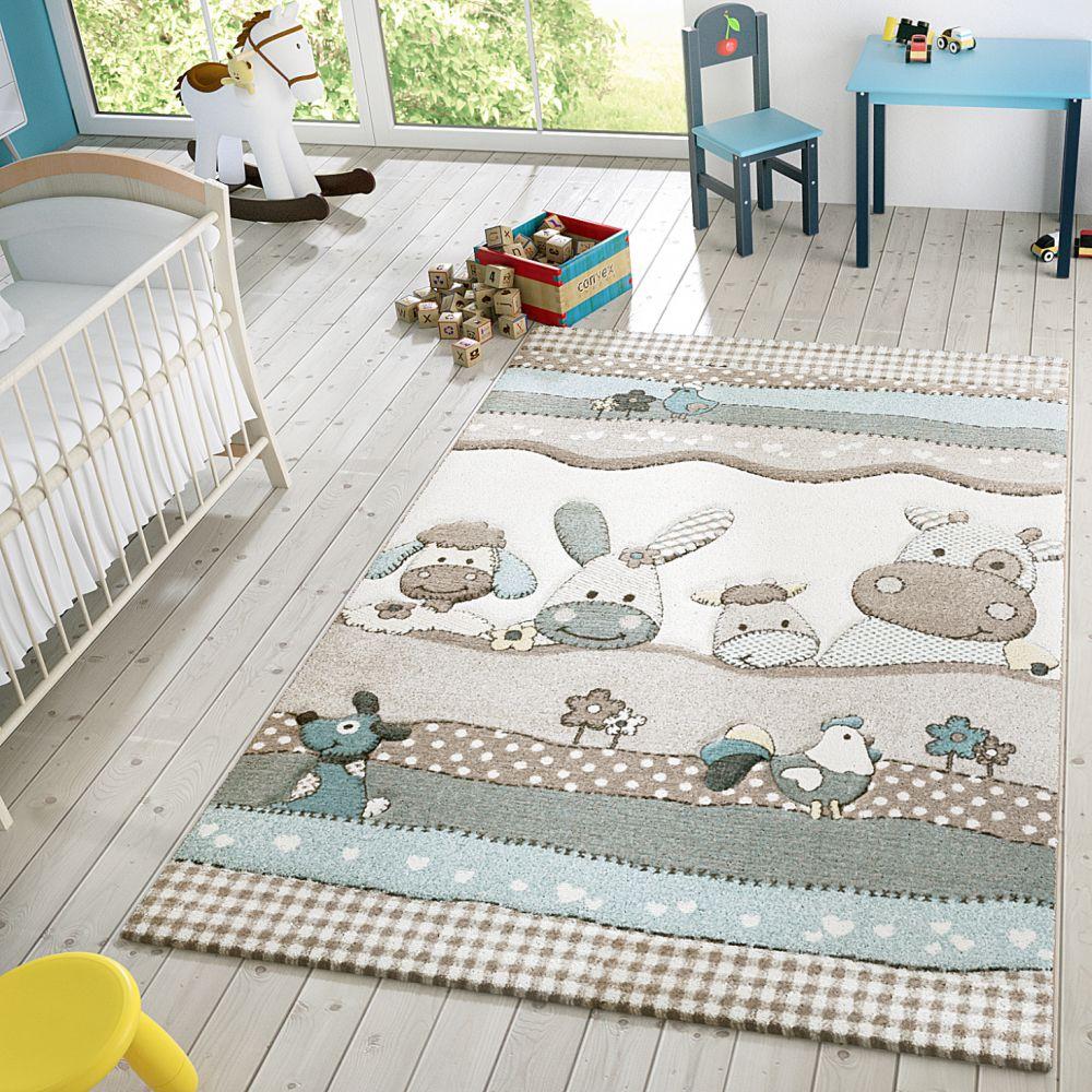 caruba farm pastell barnmatta. Black Bedroom Furniture Sets. Home Design Ideas