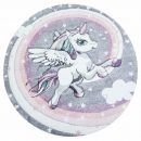 Atlas Unicorn Multi – Rund Barnmatta